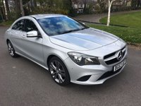 USED 2013 63 MERCEDES-BENZ CLA 1.6 CLA180 SPORT 4d 122 BHP ONE OWNER CLA SPORT WITH ONLY 28000 MILES AND FSH