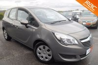 USED 2014 14 VAUXHALL MERIVA 1.4 EXCLUSIV AC 5d AUTO 118 BHP FANTASTIC LOOKING CAR WITH VERSATILITY