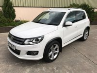 USED 2012 VOLKSWAGEN TIGUAN 2.0 R LINE TDI 4MOTION 5d 168 BHP R LINE BODY KIT, ROOF RAILS, PRIVACY GLASS, TOW BAR, FULL SERVICE HISTORY