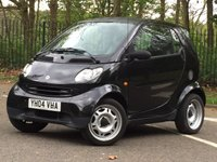 2004 SMART FORTWO 0.7 PURE SOFTIP 2d AUTO 61 BHP £1495.00