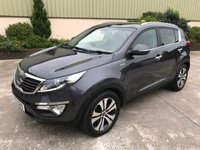 USED 2013 KIA SPORTAGE 2.0 KX-4 CRDI 5d 181 BHP BEAUTIFUL VEHICLE, LEATHER, REVERSE CAMERA, SAT NAV, SUNROOF
