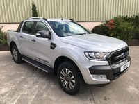 USED 2017 FORD RANGER PICKUP WILDTRAK 3.2 TD 6 SPEED LEATHER, SAT NAV, REVERSE CAMERA