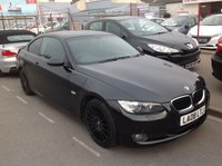 USED 2008 08 BMW 3 SERIES 2.0 320I SE 2d 168 BHP Stunning black 2 door coupe, must be seen.