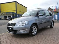 USED 2012 SKODA ROOMSTER 1.2 GREENLINE TDI CR 5d  AIRCON ~ ALLOYS ~ FULL HISTORY~ £20 TAX ~ CRUISE CONTROL