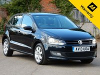 USED 2013 13 VOLKSWAGEN POLO 1.2 MATCH EDITION TDI 5d 74 BHP