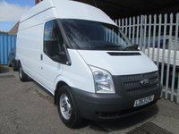 2014 FORD TRANSIT 350 LWB High roof 100PS RWD *ONLY 44000 MILES* £9495.00