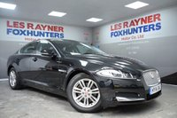 USED 2014 14 JAGUAR XF 2.2 D LUXURY 4d AUTO 163 BHP Full Jaguar Service History , Sat Nav , Full Leather Interior