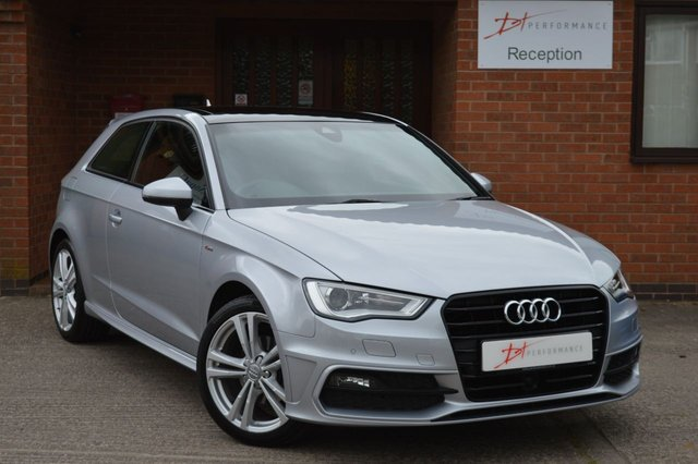 2015 64 AUDI A3 1.6 TDI S LINE 3d AUTO 109 BHP OUTSTANDING SPECIFICATION
