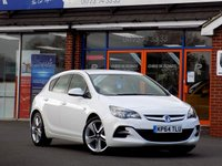 USED 2014 64 VAUXHALL ASTRA 1.6 CDTi LIMITED EDITION 5dr * Leather & Upgrade Alloys * *ONLY 9.9% APR with FREE Servicing*