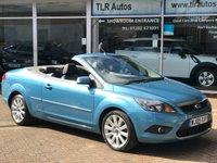 USED 2009 09 FORD FOCUS 2.0TDCi  CC3 2d 135 BHP Free MOT for Life