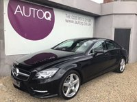 2014 MERCEDES-BENZ CLS CLASS 2.1 CLS250 CDI BLUEEFFICIENCY AMG SPORT 4d 204 BHP £21995.00
