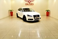 "USED 2012 61 AUDI A3 2.0 TDI Black Edition 3dr + 18"" BLACK ALLOYS + 1 PREV OWNER + RAC APPROVED DEALER"