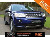 USED 2011 11 LAND ROVER FREELANDER 2 2.2 TD4 GS 5d 150 BHP A BALI BLUE FREELANDER WITH ONLY ONE LADY FROM NEW WITH FULL SERVICE HISTORY IN FANTASTIC CONDITION