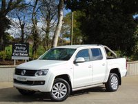 USED 2015 64 VOLKSWAGEN AMAROK 2.0 DC TDI HIGHLINE 4MOTION AUTO 180 BHP 4X4, GREAT SPEC, FULL LEATHER,  BLUETOOTH, FRONT AND REAR PARKING SENSORS