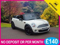 USED 2010 60 MINI CONVERTIBLE 1.6 ONE 2dr [ PEPPER PACK ] PRICE CHECKED DAILY – WHY PAY MORE ??