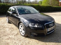 USED 2008 58 AUDI A3 2.0 TDI SPORT 3d 138 BHP Lovely condition, Alloy Wheels