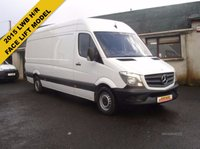 2014 MERCEDES-BENZ SPRINTER 2.1 313 CDI LWB H/ROOF £12250.00