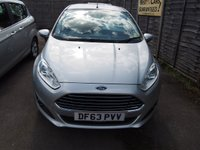 USED 2014 63 FORD FIESTA 1.2 ZETEC 3d 81 BHP PLEASE CALL TODAY FOR TEST DRIVE ALL CARS AA INSPECTED