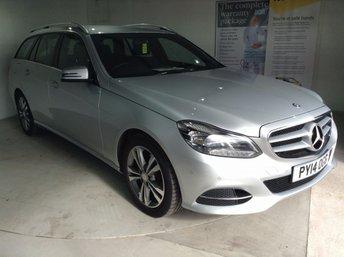 2014 MERCEDES-BENZ E CLASS 2.1 E220 CDI SE 5d AUTO 168 BHP £16403.00