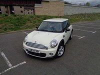 2013 MINI HATCH ONE 1.6 ONE 3d 98 BHP £7495.00