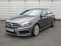 2013 MERCEDES-BENZ A CLASS 2.1 A220 CDI BLUEEFFICIENCY AMG SPORT 5d AUTO 170 BHP £14950.00