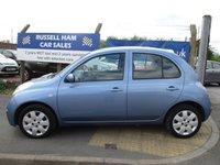 2007 NISSAN MICRA 1.4 SPIRITA 5d AUTO 88 BHP £3395.00