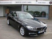 USED 2014 14 BMW 3 SERIES 2.0 320D LUXURY GRAN TURISMO 5d AUTO 181 BHP Great specification. Navigation. Head up display. Lane departure system. Advanced parking package.