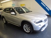 USED 2010 60 BMW X1 2.0 XDRIVE23D SE 5d AUTO 201 BHP 1 PRIVATE OWNER FROM NEW, FULL BMW SERVICE HISTORY AND FRONT AND REAR PARKING SENSORS
