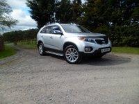 2010 KIA SORENTO 2.2 CRDI KX-1 5d 195 BHP £10995.00