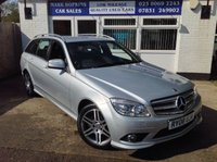 USED 2008 08 MERCEDES-BENZ C CLASS 3.0 C280 SPORT 5d AUTO 228 BHP 68K. FSH  DEMO + TWO OWNERS  HIGH SPEC SPORT MODEL