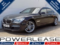 USED 2014 14 BMW 7 SERIES 3.0 ACTIVEHYBRID 7 M SPORT 4d AUTO 316 BHP 1 OWNER FSH ACTIVE HEADLIGHTS SOFT CLOSE DOORS