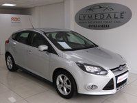 USED 2013 63 FORD FOCUS 1.6 ZETEC TDCI 5d 113 BHP FULL SERVICE HISTORY & LOW RUNNING COSTS