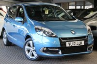 USED 2012 12 RENAULT SCENIC 1.5 DYNAMIQUE TOMTOM ENERGY DCI S/S 5d 110 BHP