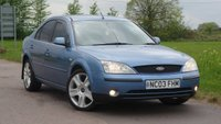 USED 2003 03 FORD MONDEO 2.0 LX 16V 5d 145 BHP DRIVES SUPERB + HPI CLEAR