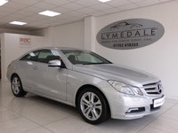 USED 2010 10 MERCEDES-BENZ E CLASS 3.0 E350 CDI BLUEEFFICIENCY SE 2d AUTO 231 BHP INCLUDES 12 MONTHS MOT AND AN UP TO DATE SERVICE + FULL LEATHER