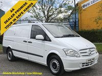 2012 MERCEDES-BENZ VITO 113 CDI Long  [ MOBILE WORKSHOP ] Low Mileage van T/SLD Free UK Delivery £8950.00