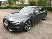 2014 AUDI A5 2.0 SPORTBACK TDI S LINE BLACK EDITION S/S 5d AUTO 175 BHP £SOLD