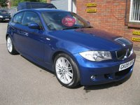2009 BMW 1 SERIES 1.6 116I M SPORT 3d 121 BHP  £SOLD