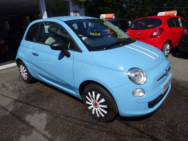 2014 14 FIAT 500 1.2 POP 3d 69 BHP
