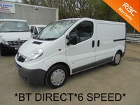 USED 2006 56 VAUXHALL VIVARO 2.0 CDTI 6 Speed 100 BHP 2900 SWB *BT DIRECT*2 X SIDE DOORS*