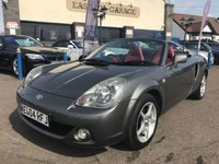 2004 TOYOTA MR2 1.8 ROADSTER 2d 138 BHP £2995.00