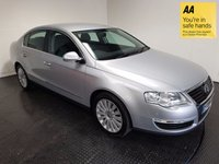 USED 2009 09 VOLKSWAGEN PASSAT 2.0 HIGHLINE TDI DSG 4d AUTO 138 BHP FSH-LEATHER-HEATED SEATS