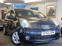 USED 2008 58 NISSAN NOTE 1.6 ACENTA 5d AUTO 109 BHP ONLY 34,000 Miles -air con,alloys,blue tooth,cruise control-great spec -easy to drive easy to get in and out of -great roomy Auto