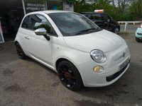 USED 2013 62 FIAT 500 1.2 STREET 3d 69 BHP Low Mileage, One Lady Owner from new, Fiat Service History + Just Serviced by ourselves, MOT until February 2018 (no advisories), Great on fuel! Only £30 Road Tax!
