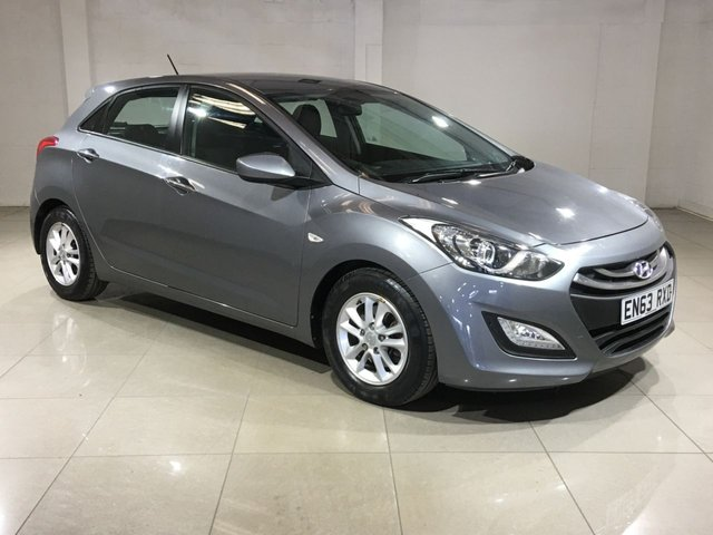 View our 2014 63 HYUNDAI I30 1.6 ACTIVE BLUE DRIVE CRDI 5d 109 BHP