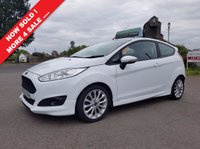 USED 2013 63 FORD FIESTA 1.0 ZETEC S 3d 124 BHP THE CAR FINANCE SPECIALISTS  !