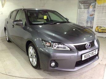 2012 LEXUS CT 1.8 200H SE-L 5d AUTO 136 BHP £8995.00