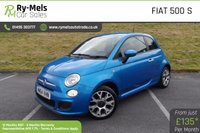 USED 2014 64 FIAT 500 1.2 S 3d 69 BHP MAIN DEALER SERVICE HISTORY