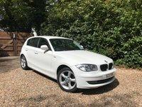 2011 BMW 1 SERIES 2.0 116I SPORT 5d 121 BHP £7489.00