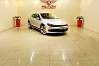 USED 2011 11 VOLKSWAGEN SCIROCCO 2.0 TDI BLUEMOTION TECHNOLOGY 2d 140 BHP + FULL SERVICE HISTORY + APPROVED DEALER
